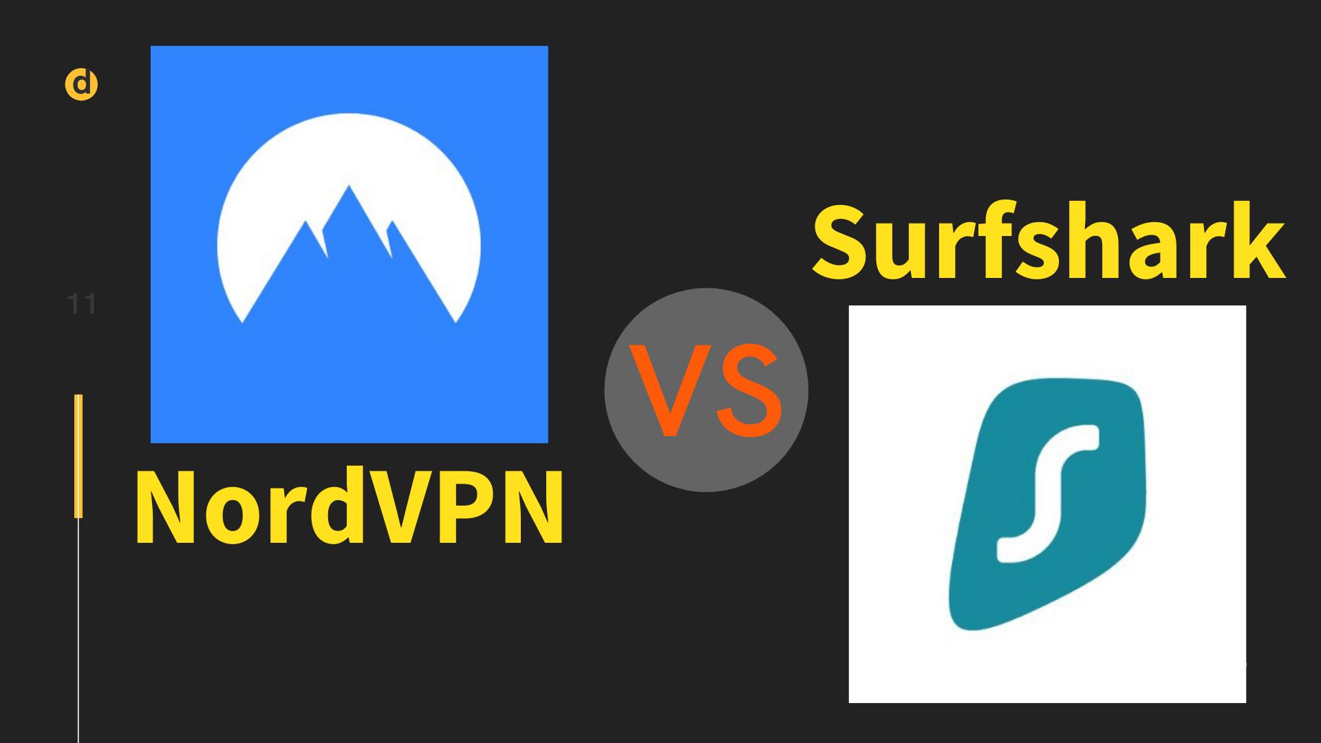 NordVPN Surfshark 比較