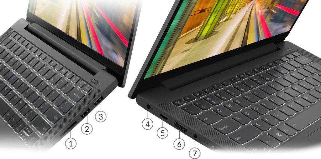 lenovo laptops ideapad 5 14 intel ports