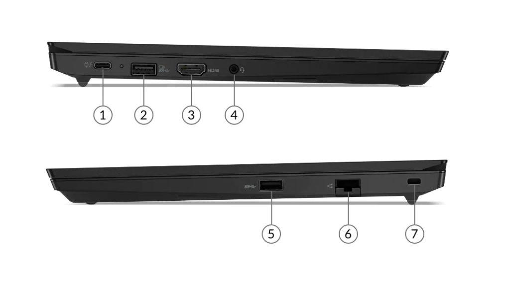 lenovo laptop thinkpad e14 gen 2 subseries ports